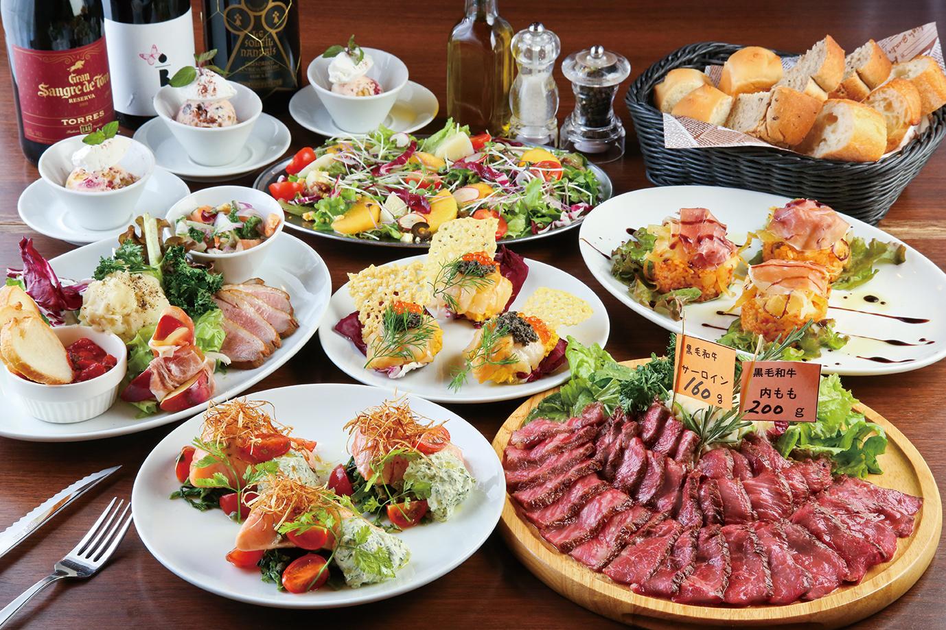 熟成肉4980円コース